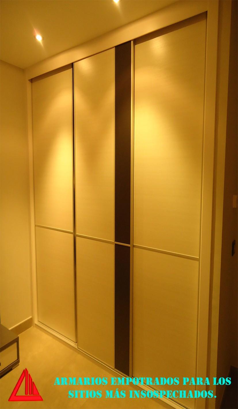 Puertas correderas para armarios empotrados good armario - Carriles puertas correderas ...