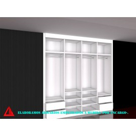 Diseño de interior de armarios