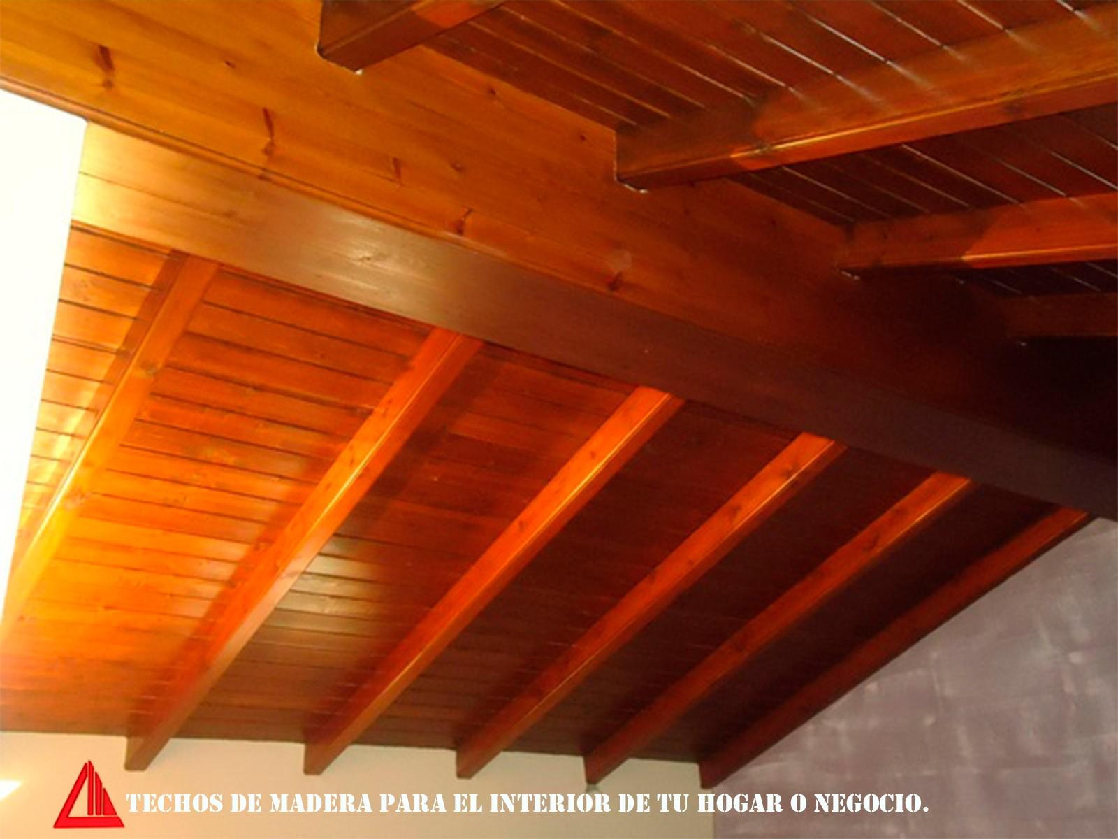 Techo De Madera Para Interior - Techos-de-madera-para-interiores