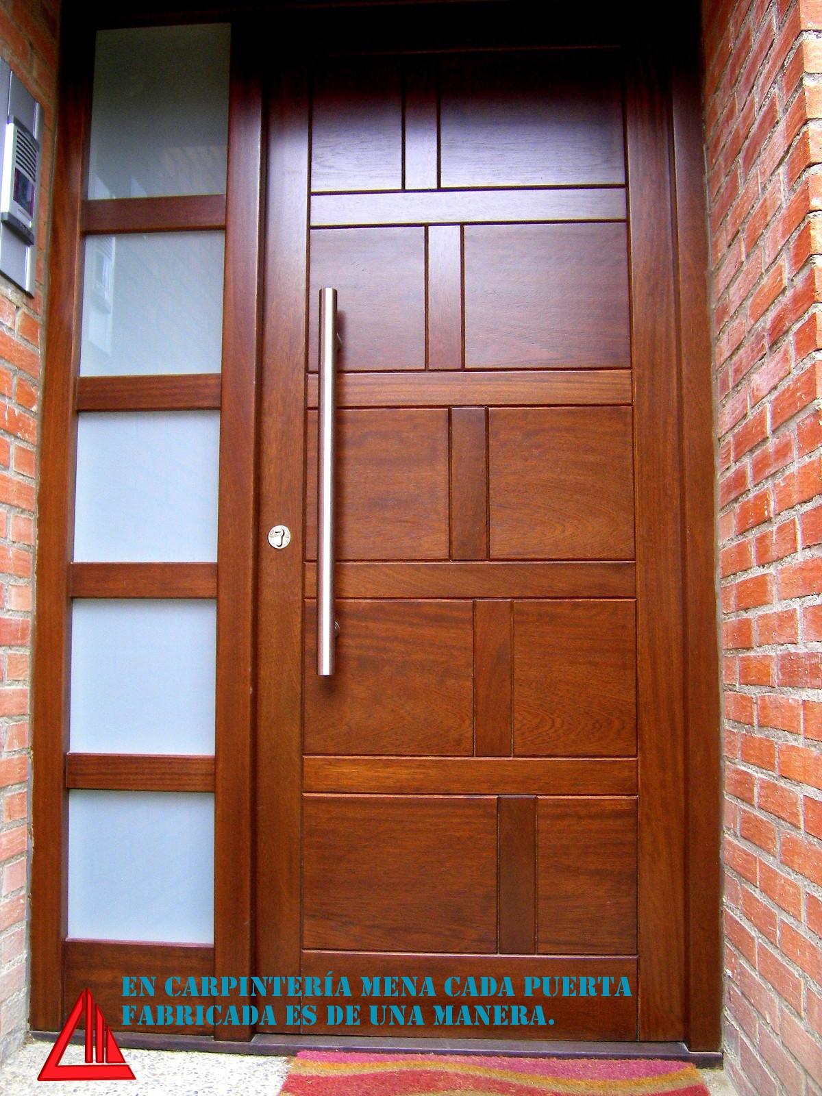 Colores de puertas de madera homepuertas m lneau with - Maderas de exterior ...