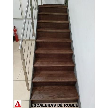 Escaleras de roble